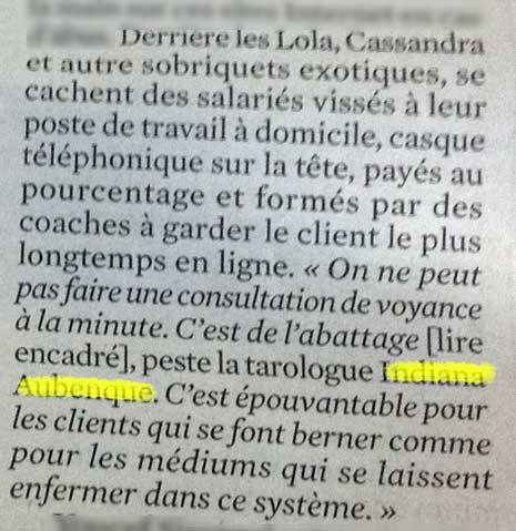 Journal du Dimanche, 10 aout 2013.